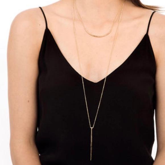 Kari layered necklace - gold
